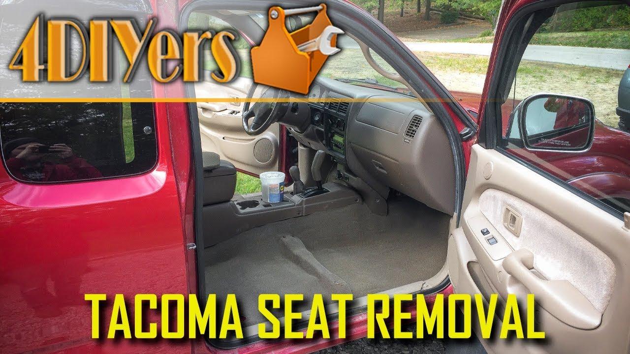 Diy 95 04 Toyota Tacoma Door Panel Removal Youtube