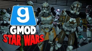 THE PLAGUE DOCTOR EVENT - Gmod Star Wars RP - (SHIP GETS OVERUN BY ZOMBIES)