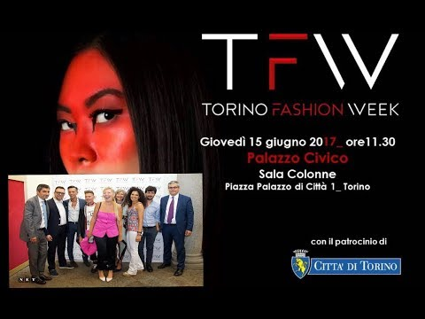 Conferenza stampa della Torino Fashion Week 2017 Full version - NET