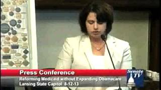 REPRESENTATIVE JENKINS' COMMENTS FROM FORUM ON FREE MARKET ALTERNATIVE TO OBAMACARE