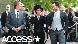 Cara Delevingne Breaks Royal Tradition At Princess Eugenie's Wedding | Access