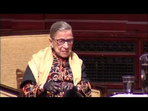 2015 Tanner Lecture on Human Values: A Conversation with Ruth Bader Ginsburg
