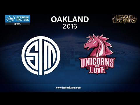 LoL - TSM vs. UoL - Game 1 - Semifinal - IEM Oakland 2016