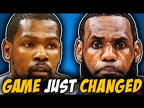 The Legacies Of LeBron And Kevin Durant Just Changed