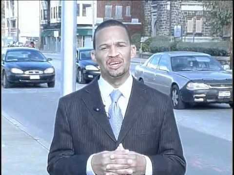 Mayor Gary A. Norton, Jr. of East Cleveland, Ohio talks safety in school zones