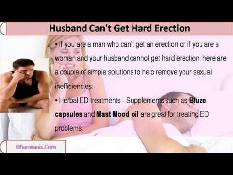 why cant i get a hard erection