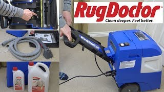 Rug Doctor Mighty Pro X3 Carpet Washer Unboxing & First Look