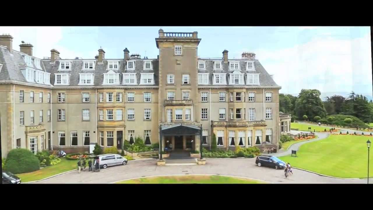 Gleneagles Promo 5 Star Luxury Hotel Scotland Golf Spa Travel