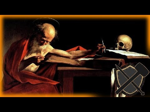 St. Jerome Prefigured in the Old Testament
