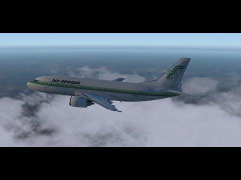 Air Afrique 520|Lagos-Accra