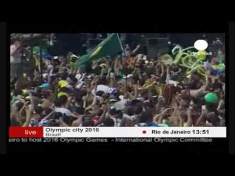 Brazilian city Rio de Janeiro will host 2016 Summer Olympics!