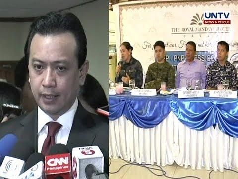 Davao City Police, pinabulaanan ang paratang ni Sen. Trillanes na most dangerous city ang Davao