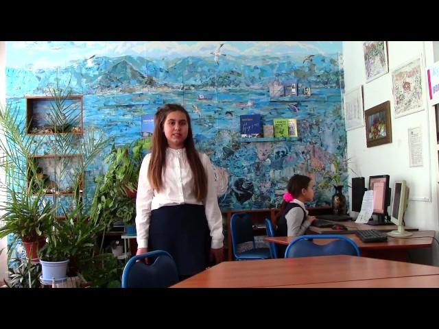 Изображение предпросмотра прочтения – ВладиславаВинникова читает произведение «Тучи» М.Ю.Лермонтова