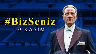 Stadımızda Atamız İçin 10 Kasım Saygı Zinciri #BizSeniz