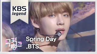 Cover images 방탄소년단(BTS)  '봄날 (Spring Day)'  l  @뮤직뱅크 Music Bank 20170224