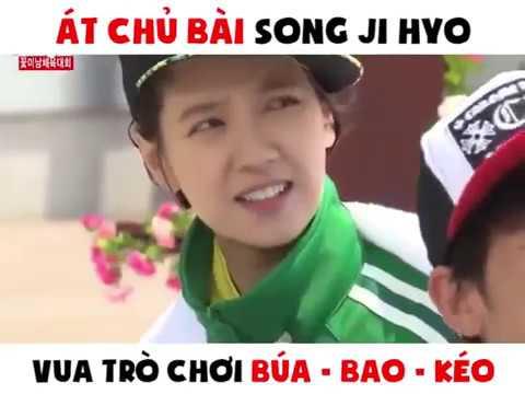 Song Ji Hyo – vua trò chơi kéo búa bao
