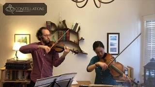 Joseph Maile & Pei-Ling Lin: Mozart Duo in B-flat, K. 421, II. Andante cantabile