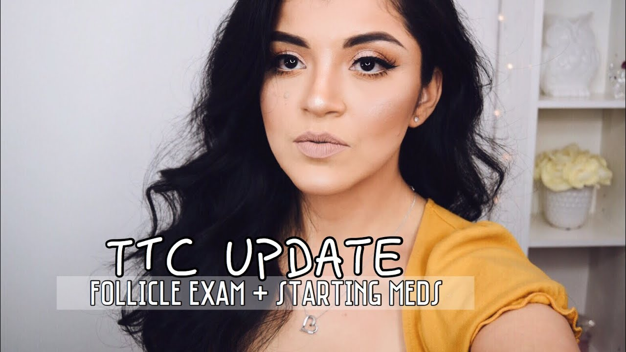 TTC JOURNEY UPDATE: Follicle Exam Results + Starting Fertility Medication