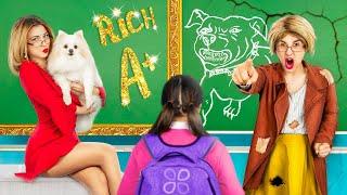 Zengin Öğretmen vs Parasız Öğretmen / Okulda 17 Komik Durum