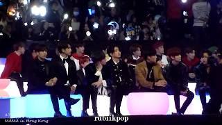 Download Video 171201 MAMA - (half half) Got7, NCT127, BTS, SuJu, Vernon, Jooheon, Day6 react to Soyu's perf MP3 3GP MP4