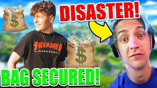 Ninja LOSES IT Over HIS Fortnite Event.. Clix MILLION DOLLAR Deal! Ronaldo DONE with Epic!