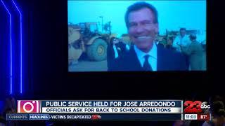 Public service held for Jose Arredondo