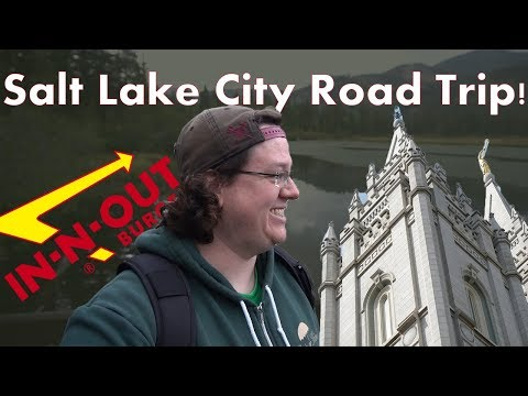 SALT LAKE CITY ROAD TRIP 2017: Soccer, LDS Temple Square, Silver Lake, In-N-Out