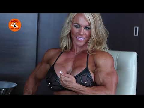 Female bodybuilding is suitable to be a personal bodyguard