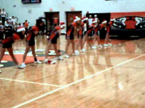 Versailles High School Cheerleaders Christmas Dance 2010