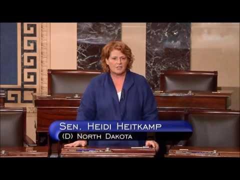 Senate colleagues thank Senator Susan Collins for her leadership