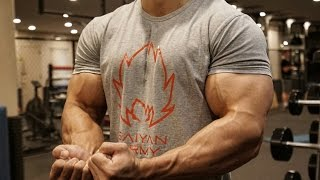 One of Gokuflex's most viewed videos: BIG BICEPS EXERCISE