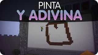 Minecraft - ¡Pinta y Adivina! Milk and Cheats xD