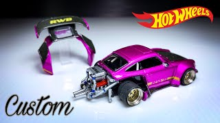 Insane Build Hot Wheels RWB Porsche Carrera