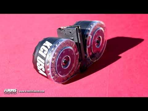 Full Auto AR15 - KCI 100-Round Drum Magazine