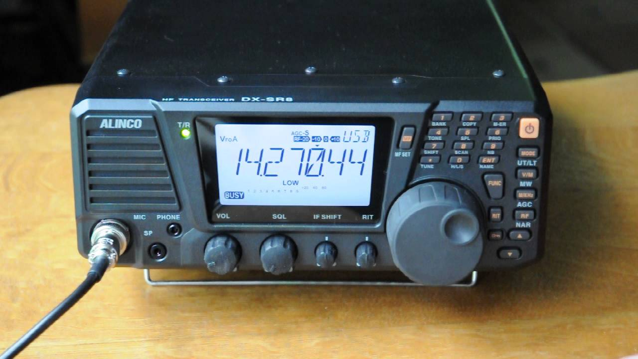 K0VtIcOE5eU on test ham radio receiver