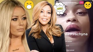 BLAC CHYNA and TOKYO TONI and AUBREY O'DAY BOTH DISS WENDY WILLIAMS