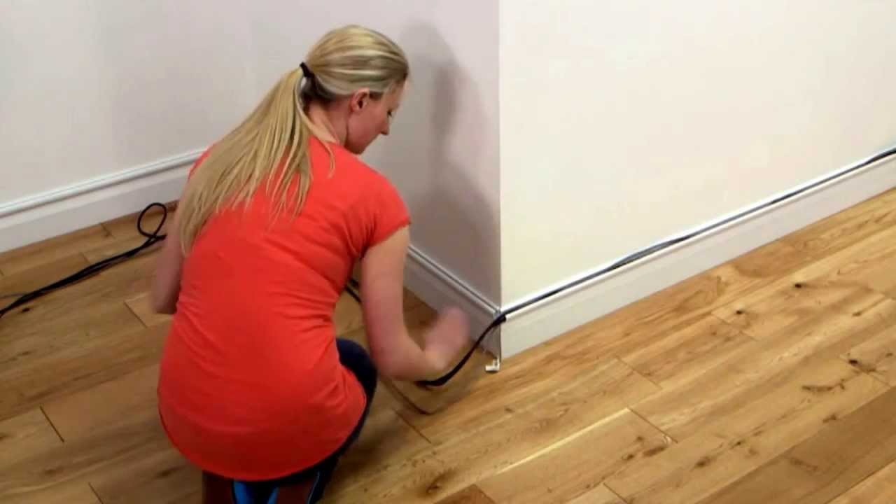 D Line Decorative Cable Trunking Cover - YouTube