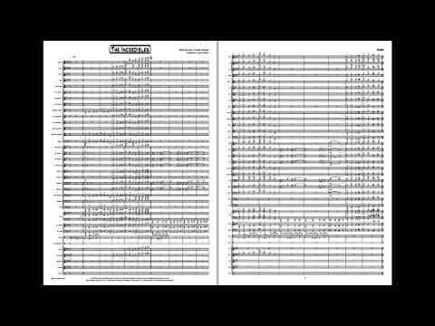 The Incredibles - Concert Band, Grade 4,5 (Giacchino/Gudim)