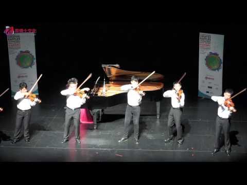 Raffles Music Festival 2015 Chamber Music : Violin Ensemble Winner