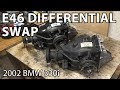 BMW E46 Manual Swap Project: Differential Swap