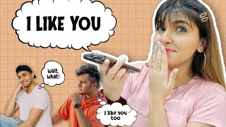 'I LIKE YOU' PRANK CALL ON MY BFFS ! *OMG* | Ashi Khanna