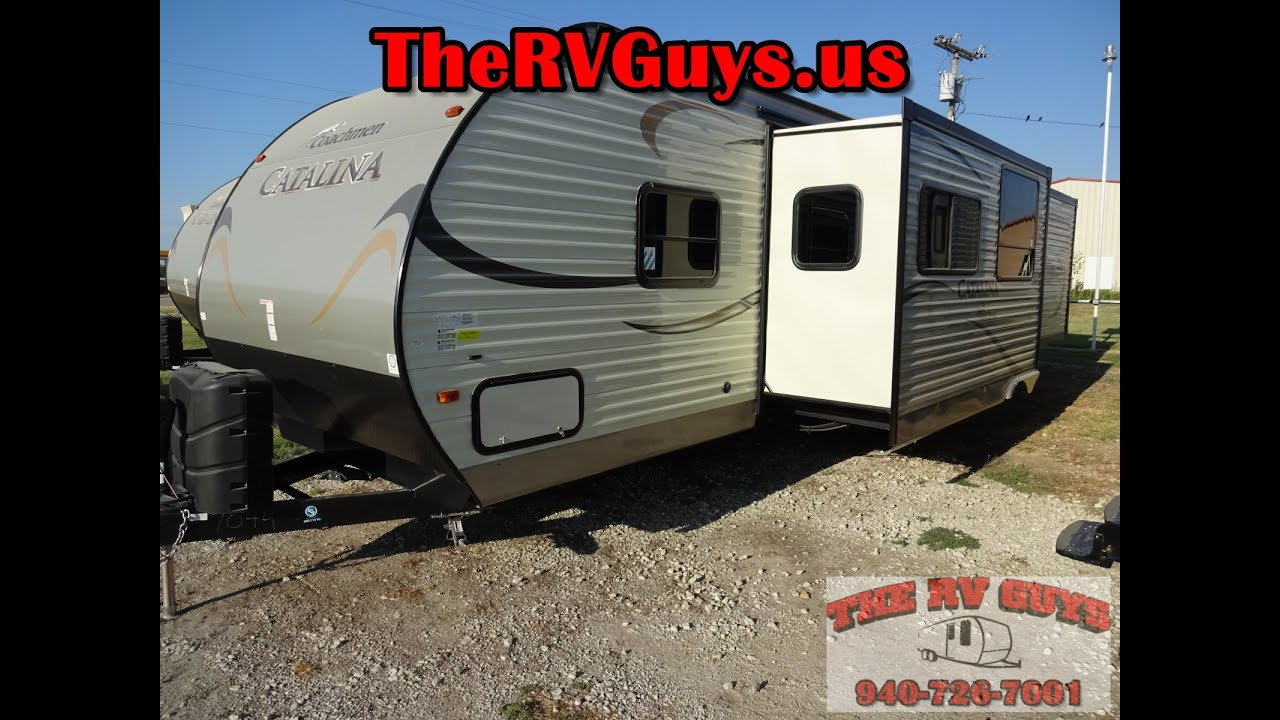 this family friendly 2 bedroom bumper pull 2015 catalina 343qbds