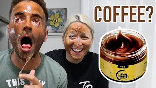 EXTREME COFFEE FACE MASK Painful