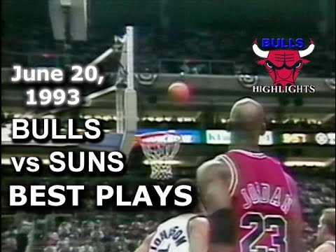 1993 Bulls vs Suns game 6 highlights