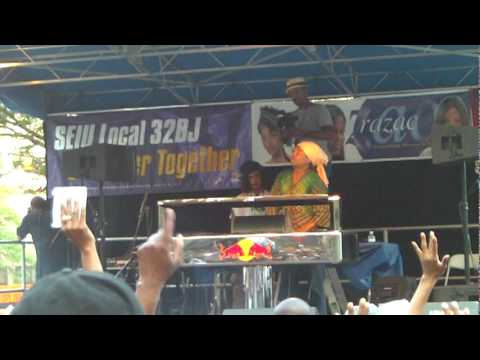 Lincoln Park Music Festival 2010 Newark NJ - Joe Claussell