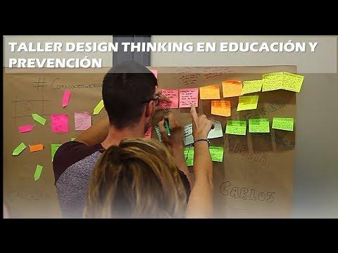 TALLER DESIGN THINKING EDUCACIÓN Y PREVENCIÓN