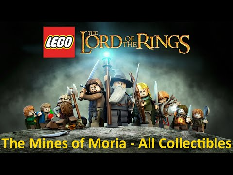 LEGO The Lord Of The Rings - The Mines Of Moria - All Collectibles 100% Walkthrough