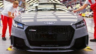 Inside Extreme Audi Factory Producing the TT RS and A3 Sedan