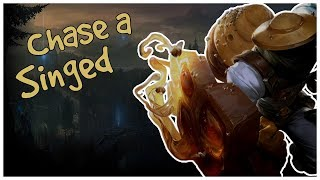 Chase A Singed - League Of Legends Funny Moments / Highlights #16 [Singed]