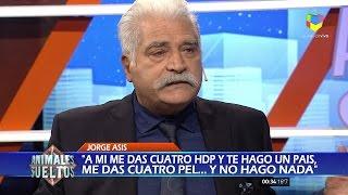 "J.Asís en ""Animales sueltos"" de A.Fantino - 15/03/17"